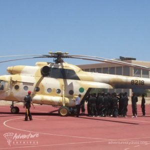 Military Students Boarding Helicopter
